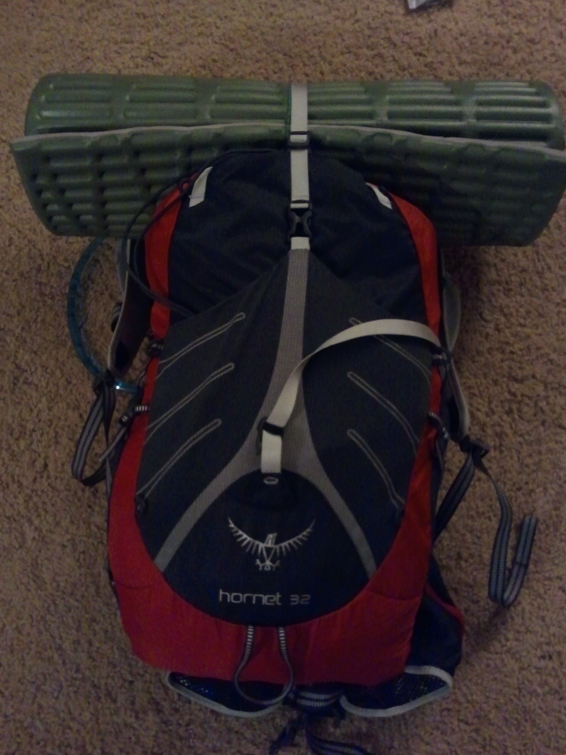 coming in at 1lb 4oz this is one of the lightest packs on the market this is a huge downsize from my osprey exos 58 liter pack and also a huge weight